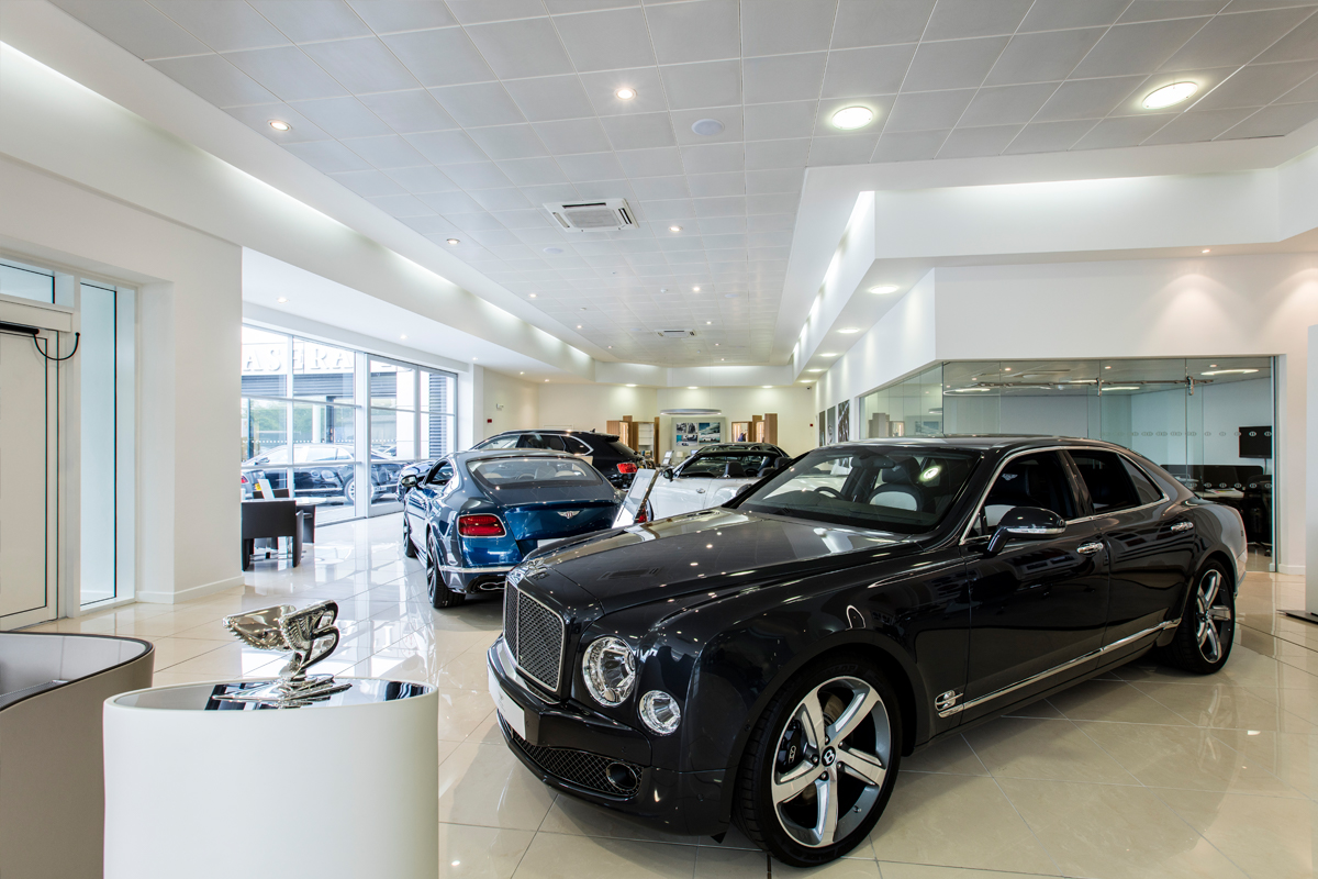 Bentley Dealerships, Essex & Kent - Automotive Construction - Horizon Construction