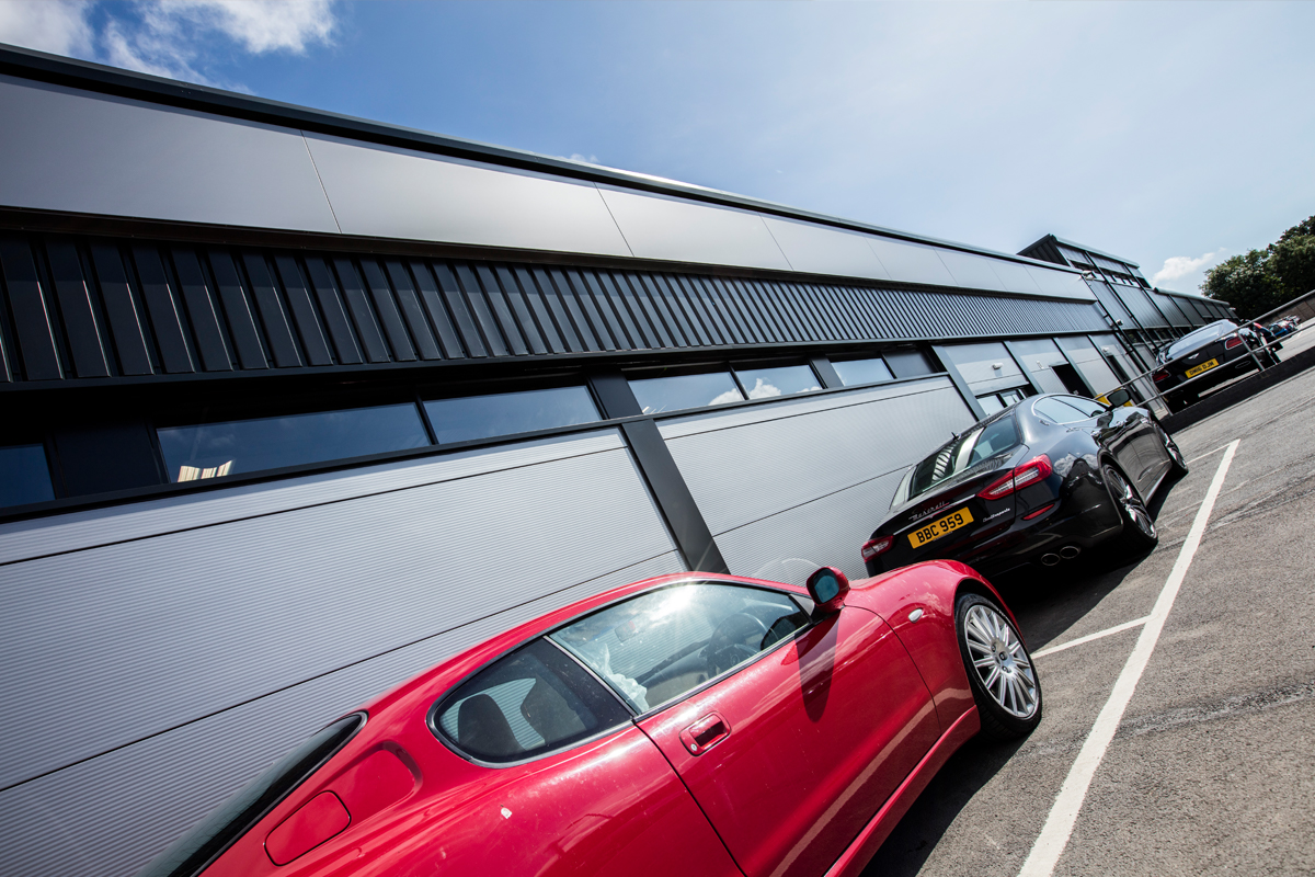 Ferrari & Maserati Aftersales Facility - Automotive Construction - Horizon Construction