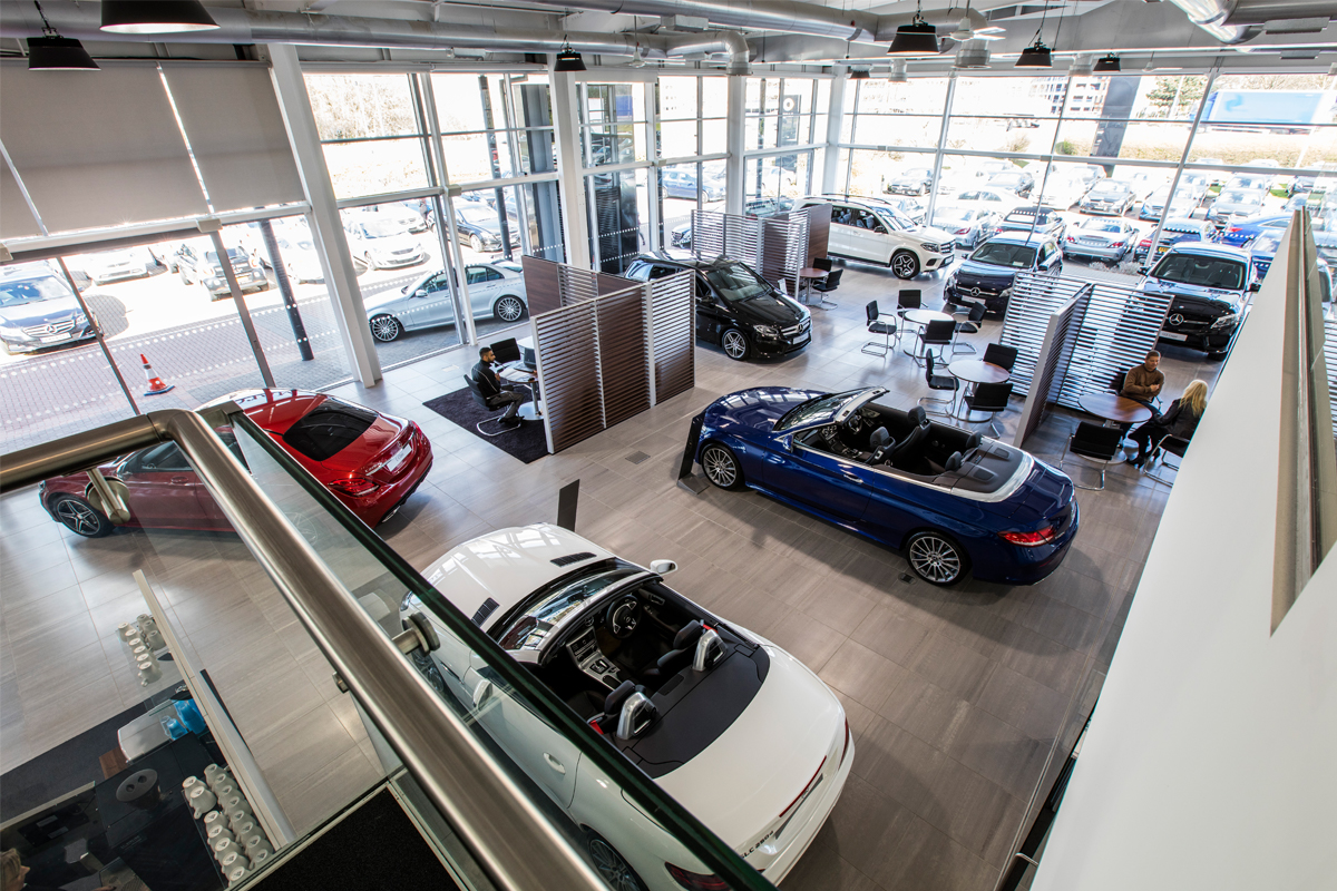 Mercedes Benz, Smart & AMG Dealership - Automotive Construction - Horizon Construction