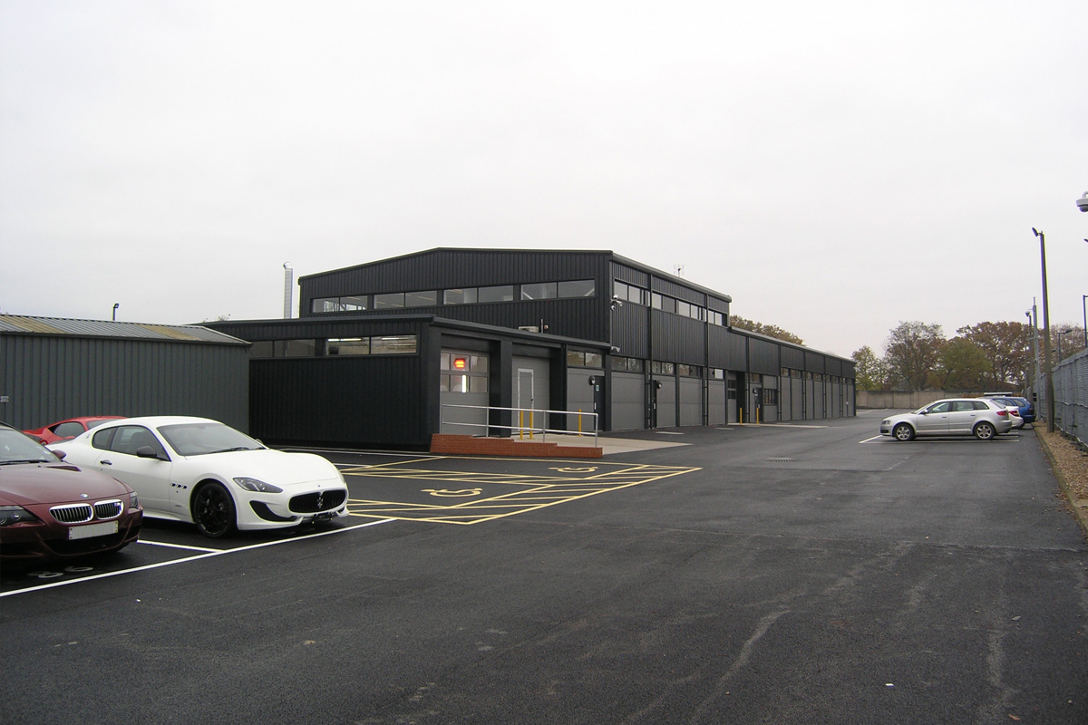 Porsche Aftersales Facility, Colchester - Horizon Construction