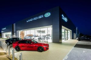 Jaguar Land Rover Dealership, Southend - Automotive Construction - Horizon Construction Group