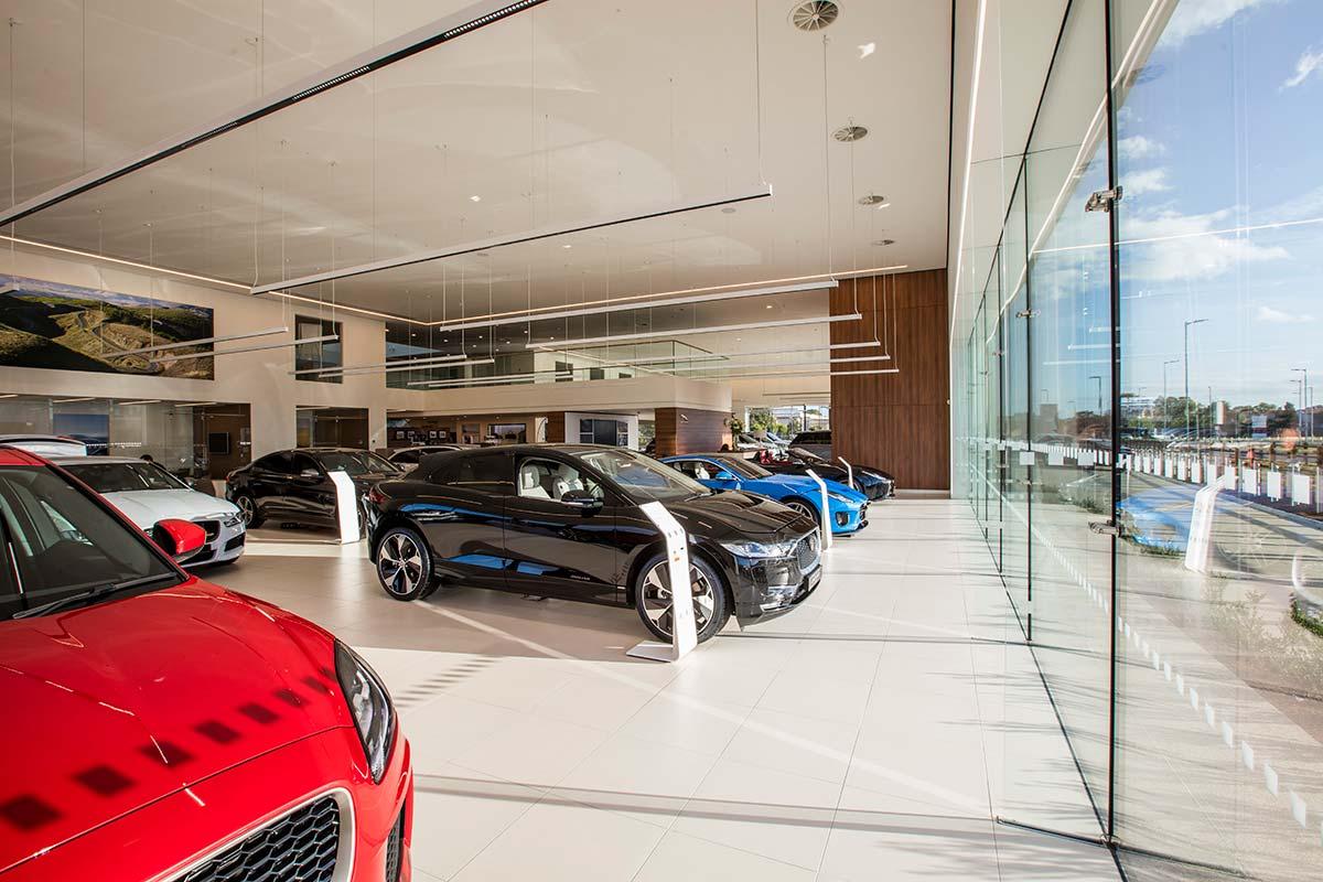 Jaguar Land Rover Dealership, Southend - Automotive Construction - Horizon Construction Group