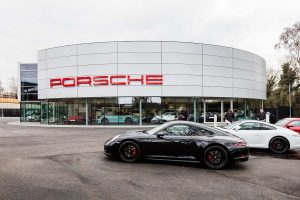 Porsche London - Horizon Construction - Automotive Construction Projects