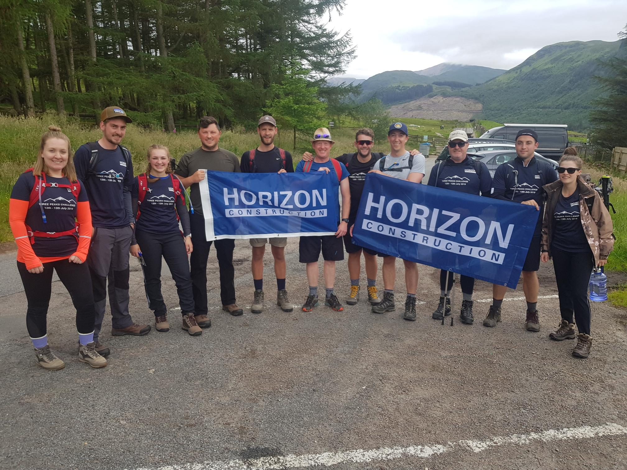 Three Peaks Challenge - Horizon Construction