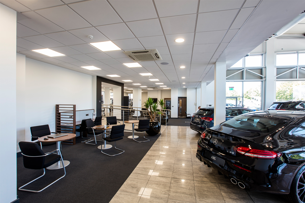 Mercedes Benz Dealership, Chelmsford 2