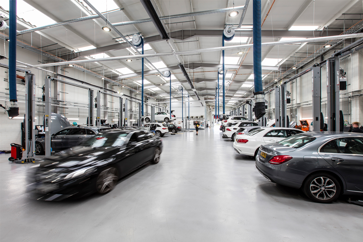 Mercedes Benz Dealership, Chelmsford - Automotive Construction - Horizon Construction