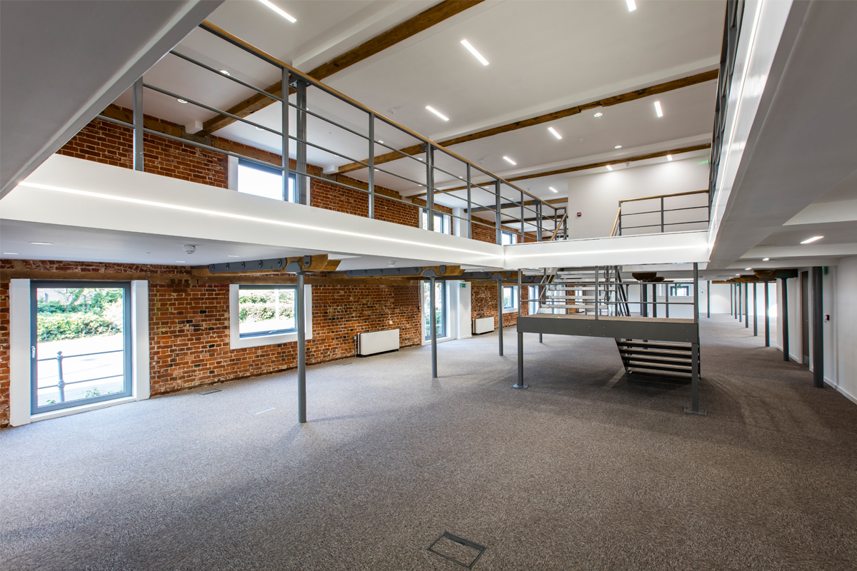 The Maltings, Ipswich, Suffolk - Commercial Construction - Horizon Construction