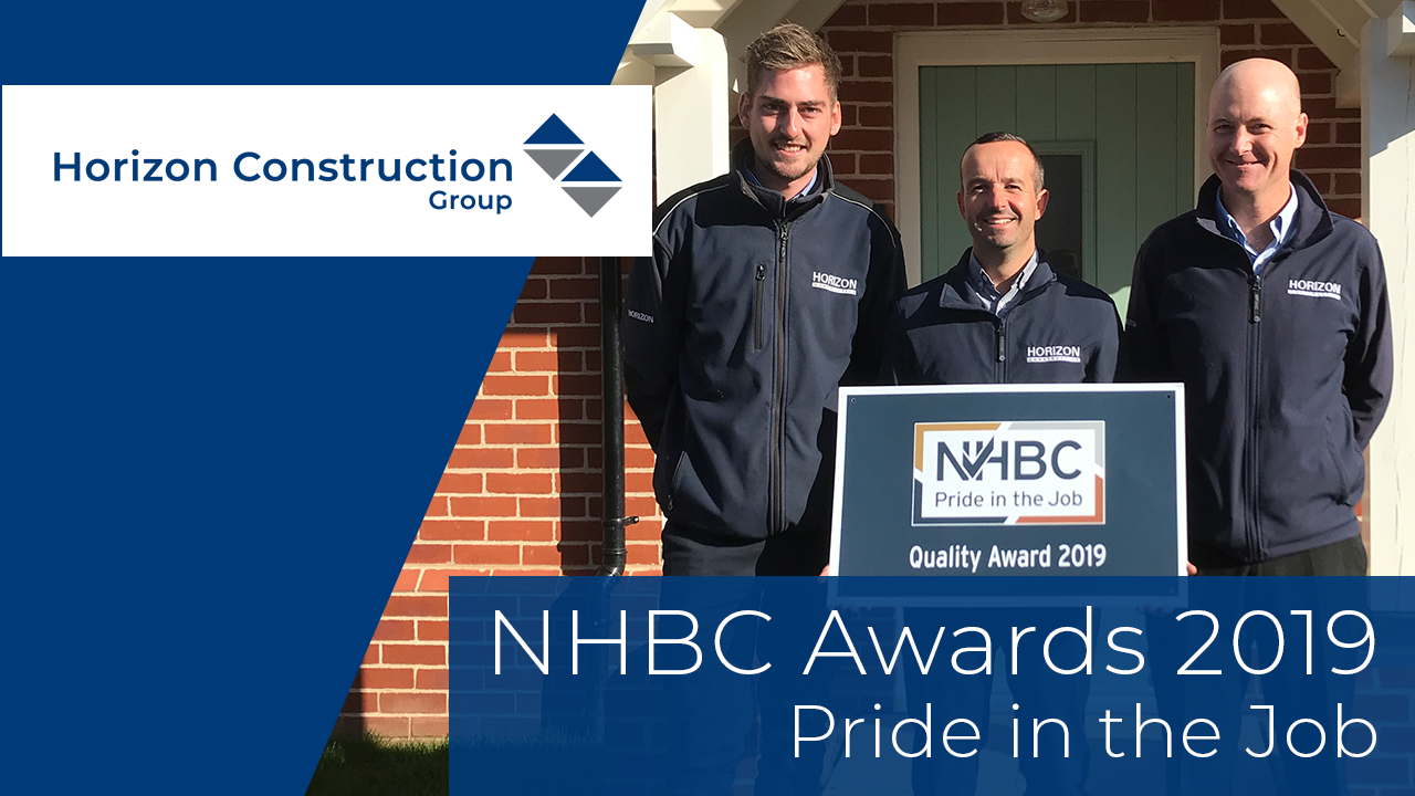 Daniel Shine wins NHBC Pride in the Job Award