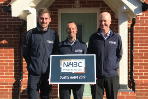 NHBC Pride in the Job Award - Horizon Construction Group