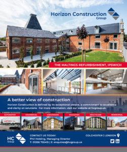 Horizon Construction - Construction East - Advert Spring 2020