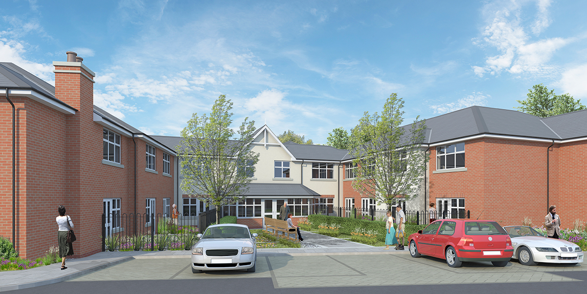 New healthcare construction contract in Woodbridge, Suffolk