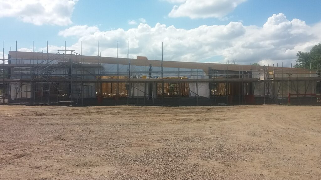 Commercial Construction: Essex Wildlife Trust, Laindon - June 2020