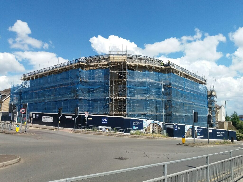 Healthcare Construction: Dartford, Kent - June 2020