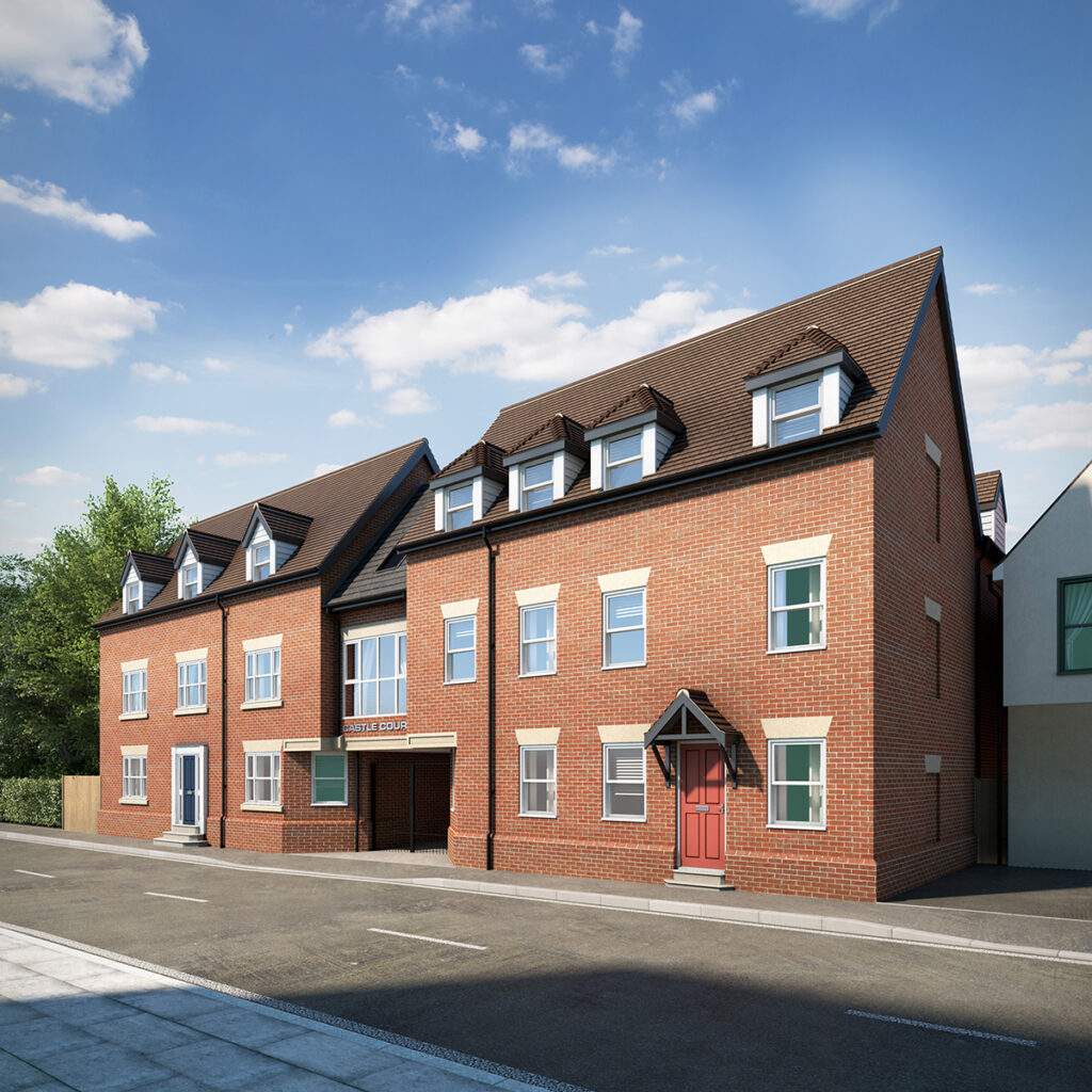 Residential Construction: Castle Court, Colchester, Essex 2 - June 2020