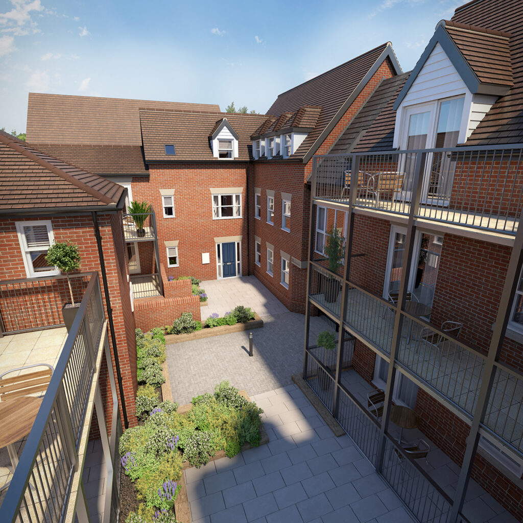 Residential Construction: Castle Court, Colchester, Essex 1 - June 2020