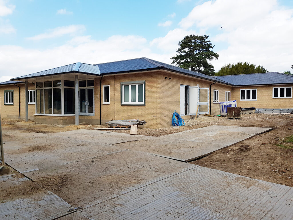 Healthcare Construction: Fornham Care Home, Bury St. Edmunds, Suffolk - June 2020