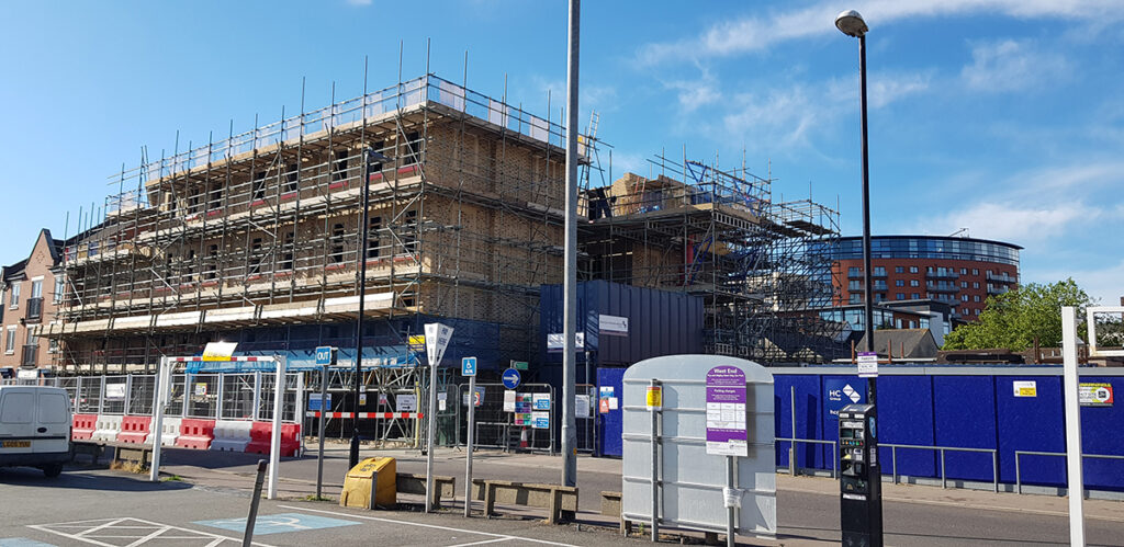 Residential Construction: Chelmsford, Essex - June 2020