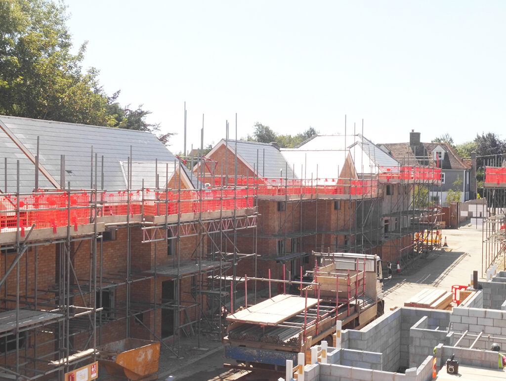 Residential Construction: Wix, Essex - June 2020