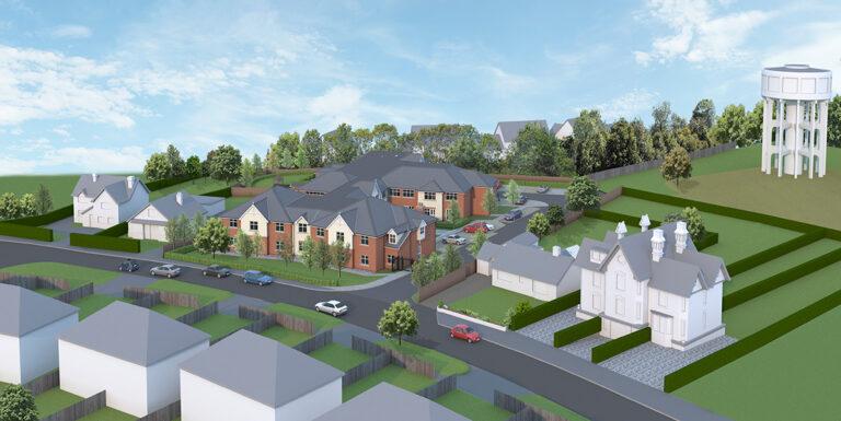 Healthcare Construction: Woodbridge, Suffolk 2 - June 2020