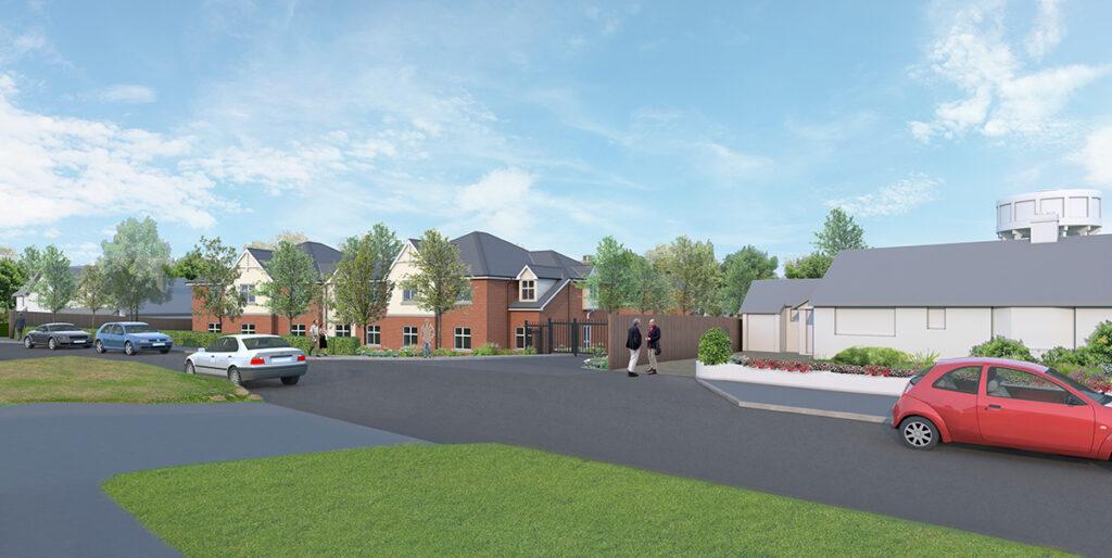Healthcare Construction: Woodbridge, Suffolk 1 - June 2020