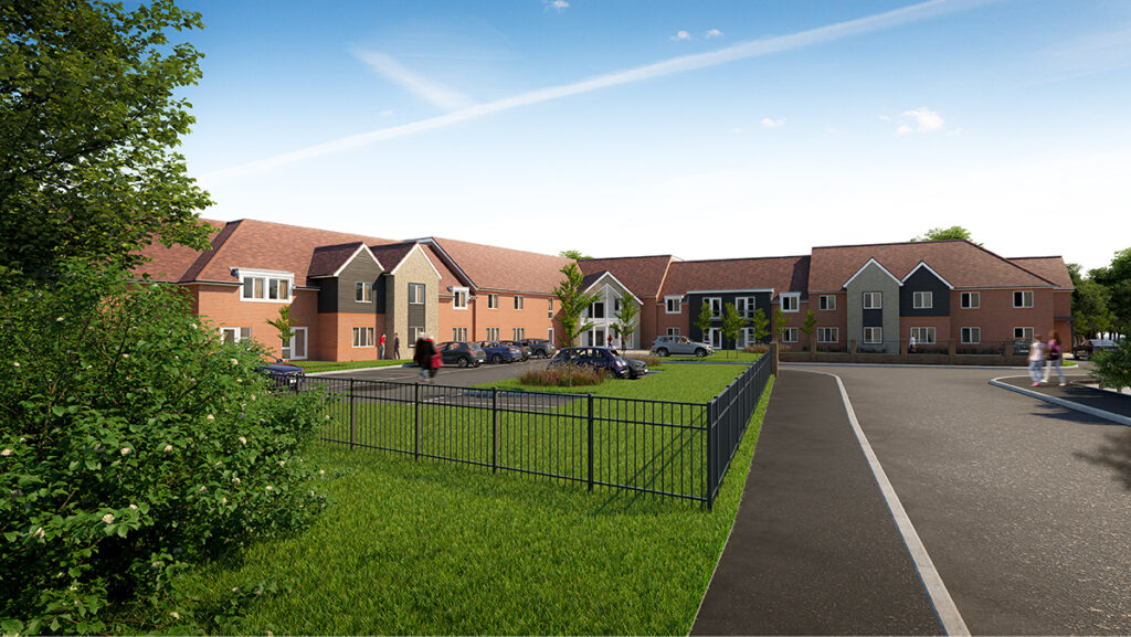 Oakland Care Maidstone Kent Care Home - CGI 2