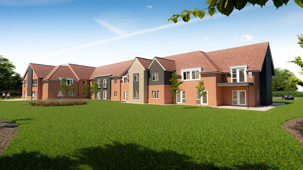Oakland Care Maidstone Kent Care Home - CGI 3