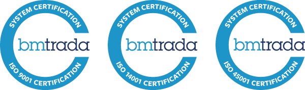 ISO 9001, 14001 and 45001 Management System Certification