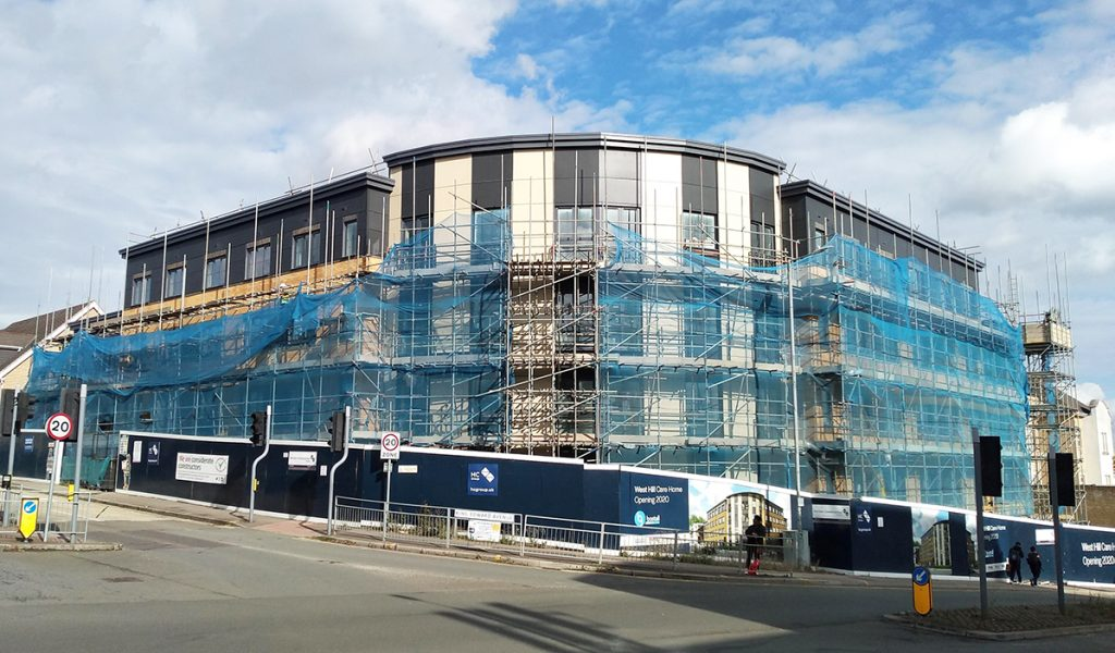 Care Home Construction in Dartford, Kent