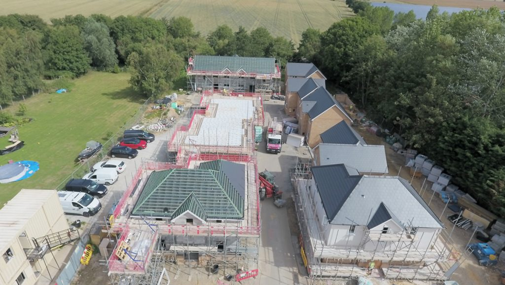 Residential Construction in Wix, Essex