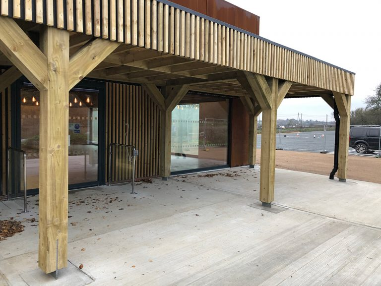 Commercial construction at Essex Wildlife Trust in Laindon - Photo 2