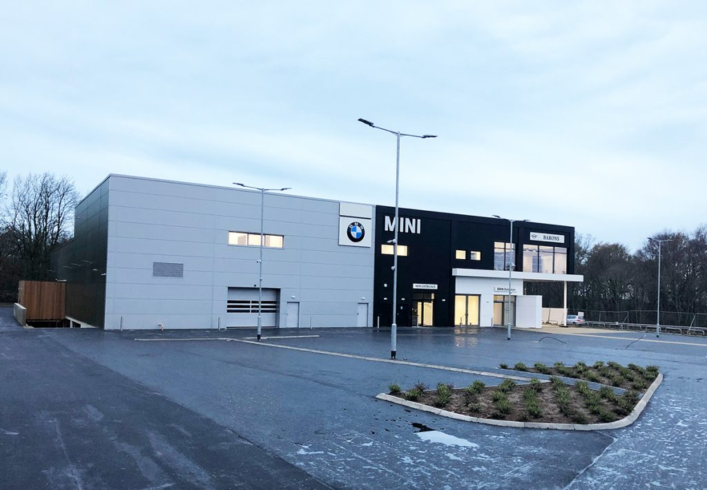 Automotive construction of BMW & Mini Showroom in Hindhead, Surrey - Photo 1