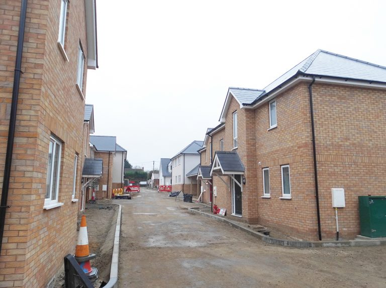 Residential construction of site in Wix, Essex - Photo 1