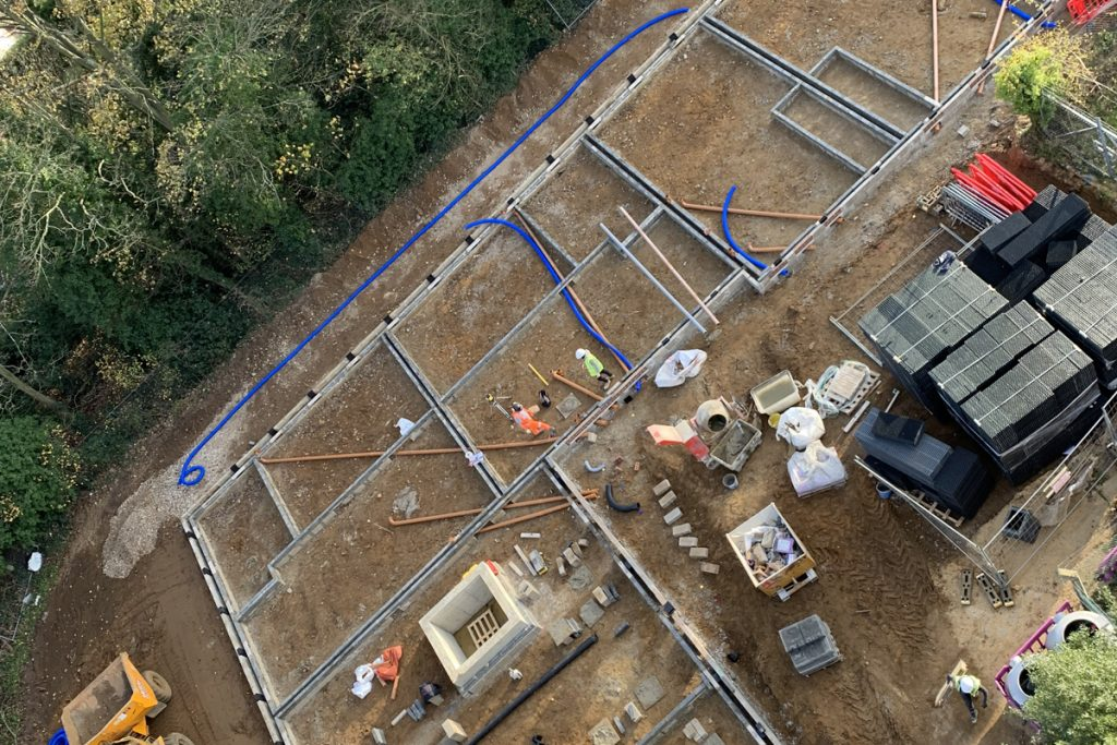 Healthcare construction of new care home in Woodbridge, Suffolk - Photo 2