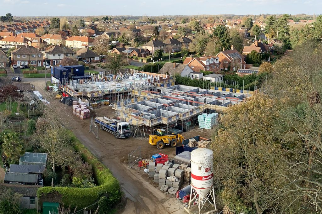 Healthcare construction of new care home in Woodbridge, Suffolk - Photo 1