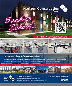 Construction East - Spring 2021 - Horizon Construction Advert