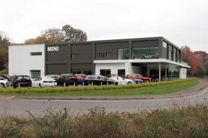 BMW Dealership, Hindhead - Photo 1 - Automotive Construction