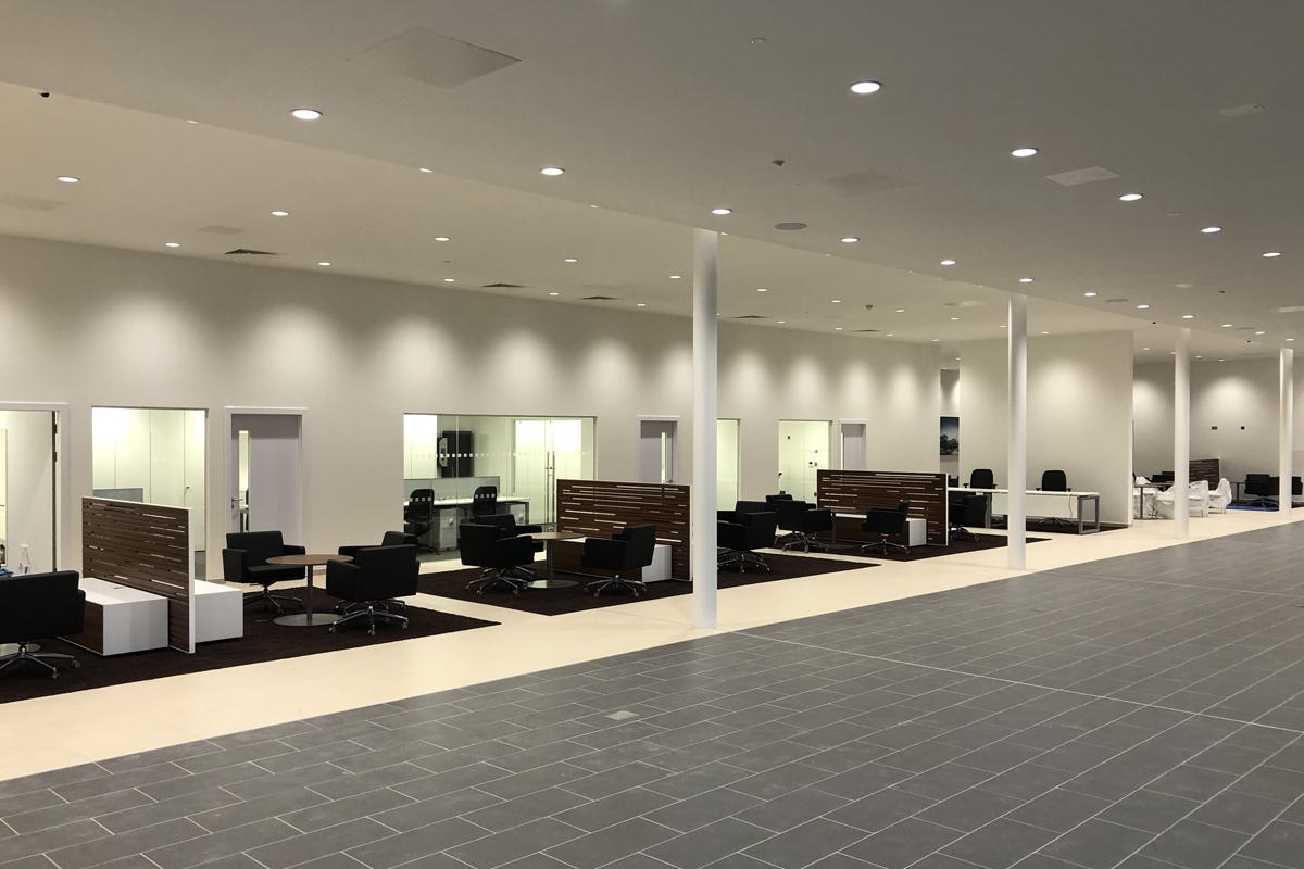BMW Dealership, Hindhead - Photo 2 - Automotive Construction