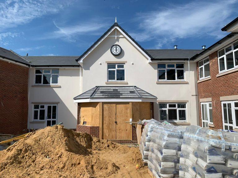Care Home Construction - Woodbridge, Suffolk - June 2021 v1
