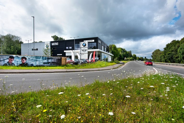 BMW Dealership, Hindhead - Automotive Construction - Photo 1