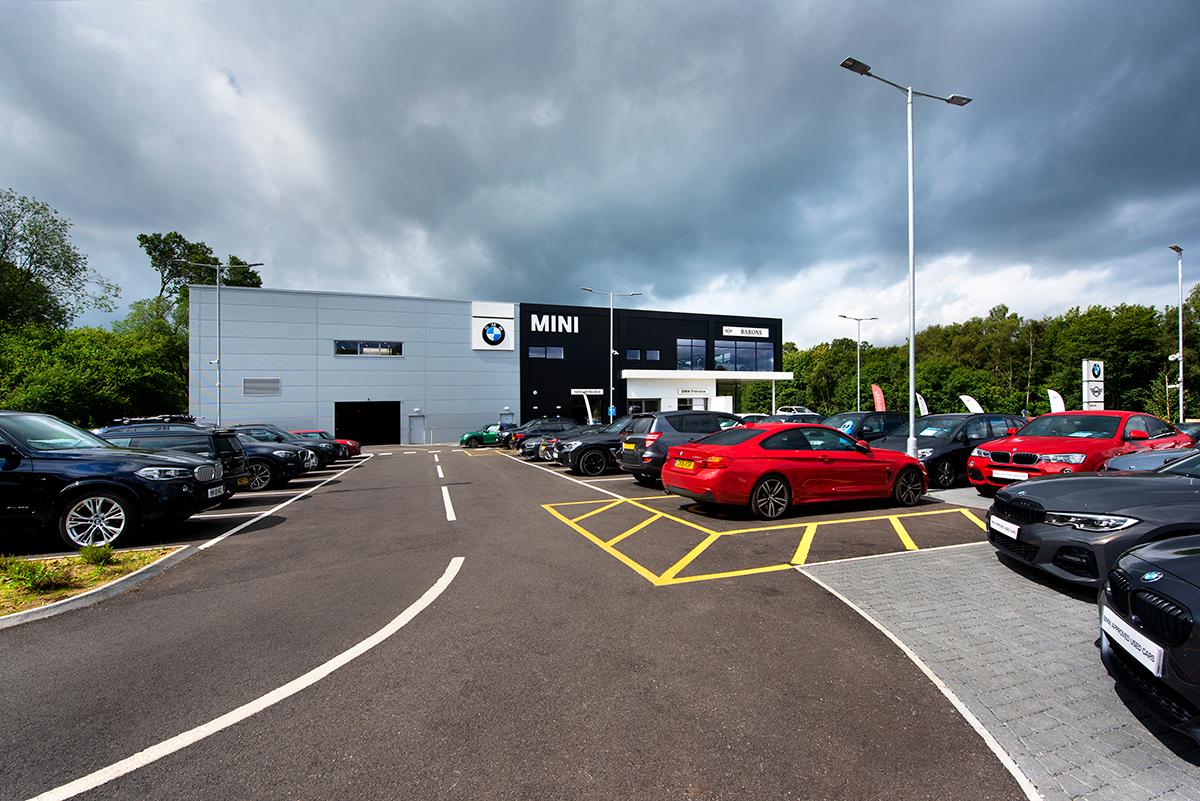 BMW Dealership, Hindhead - Automotive Construction - Photo 2