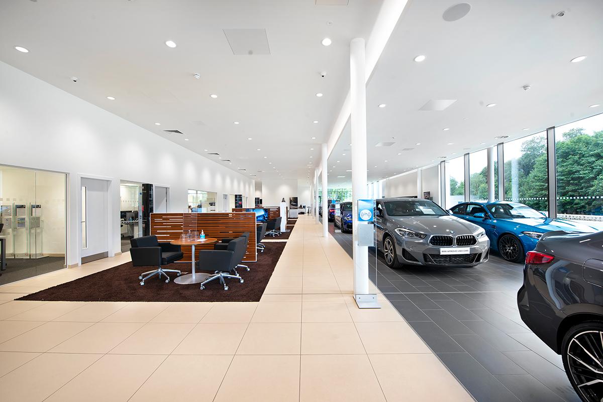 BMW Dealership, Hindhead - Automotive Construction - Photo 4