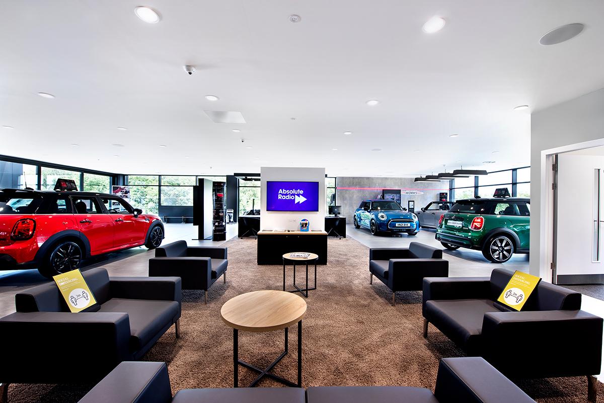 BMW Dealership, Hindhead - Automotive Construction - Photo 5